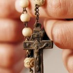STAY AT HOME: and join together in praying a decade of the Rosary at midday every day